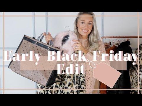 EARLY BLACK FRIDAY HAUL // SALES + DISCOUNT CODES 2018 // Fashion Mumblr