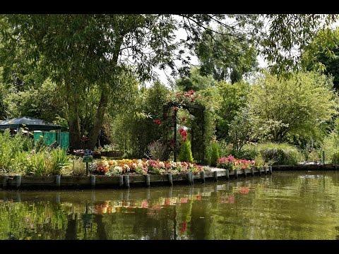Les hortillonnages Amiens - Picardie - France