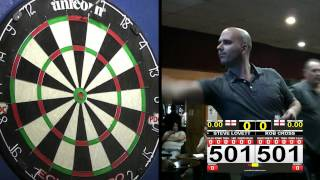 Rob Cross Vs Steve Lovett - St Peters Darts Open, Carshalton - 23/10/16