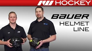 Bauer Helmet Line Insight w/ RE-AKT 200