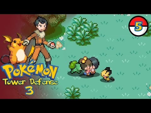 Pokemon Tower Defense 3 Part 5 - The Real Truth!