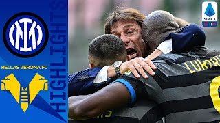 Inter 1-0 Hellas Verona | Darmian Goal Edges Inter Closer to the Scudetto | Serie A TIM