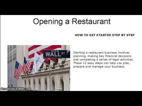 How To Open Your Own Restaurant How To Start Your Own Restaurant - Restaurant startup business plan template