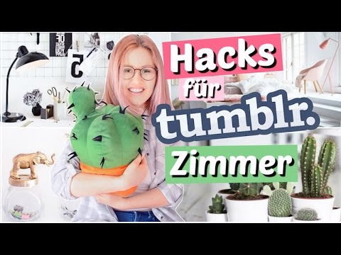 10 hacks f r ein tumblr zimmer viktoriasarina youtube. Black Bedroom Furniture Sets. Home Design Ideas