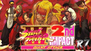 Street Fighter III 2nd Impact: Giant Attack Arcade Longplay [HD 60FPS]