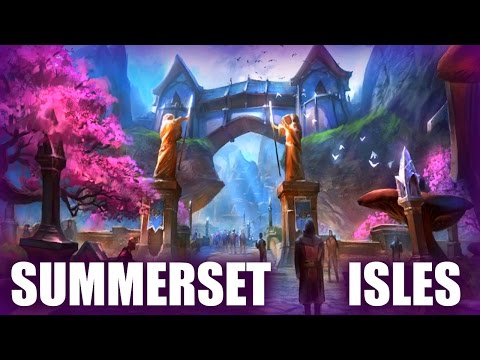 The History of the Summerset Isles - Elder Scrolls Lore