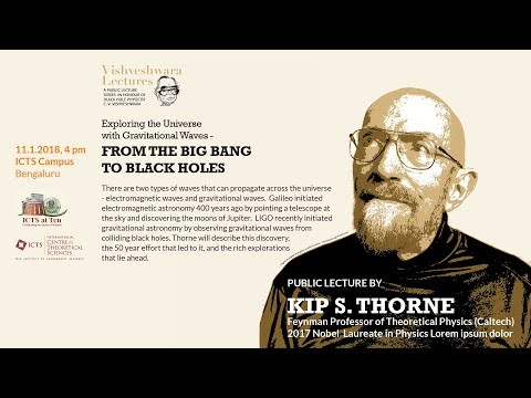 Exploring the Universe with Gravitational Waves: From the Big Bang to Black Holes by Kip S Thorne