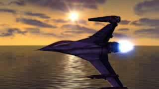 Galaga: Destination Earth Cutscene: Earth