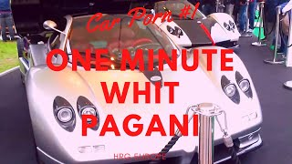 CAR PORN - ONE MINUTE WITH PAGANI.