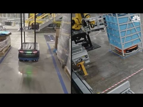 Meet Bert and Ernie, Amazon's new warehouse robots designed to improve worker safety