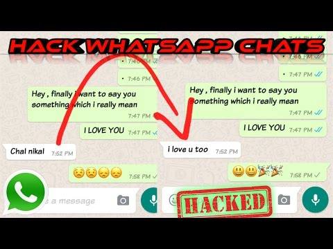 HACK WHATSAPP CHATS HISTORY & EDIT/MODIFY IT -- ROOT REQUIRED -- हिंदी---