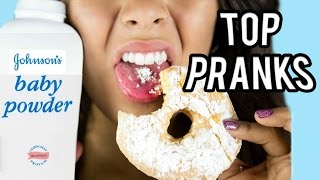 One of Natalies Outlet's most viewed videos: TOP 10 PRANKS FOR FRIENDS & FAMILY! NataliesOutlet