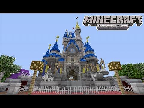 minecraft ps4 disney world download