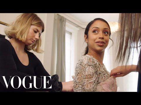 Liza Koshy Picks Her Dress for the Met Gala   Vogue