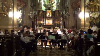 Pittsburgh Youth Chamber Orchestra 2012 European Tour - Ragtime Dance - Peterskirche, Vienna