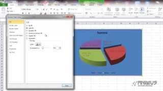 excel 2010 Урок 26 Круговая диаграмма