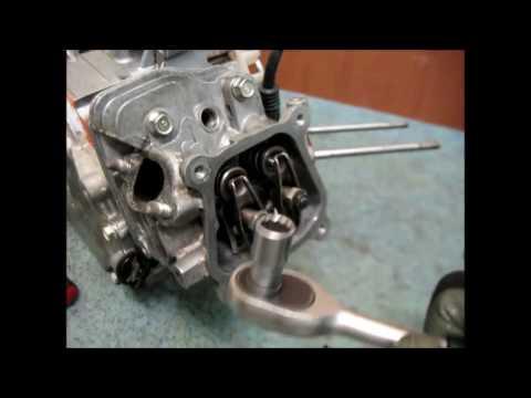 Как отрегулировать клапана на двигателе\HONDA GX160\ How to adjust valves on 4-stroke engine