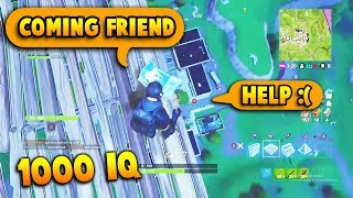 When You Are in Trouble But Have 1000 IQ | Fortnite Funny & WTF Moments #6