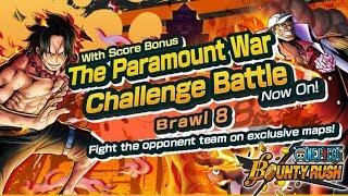 Testing shanks & blackbeard for new brawl 8! +180% score bonus op team! | one piece bounty rush opbr