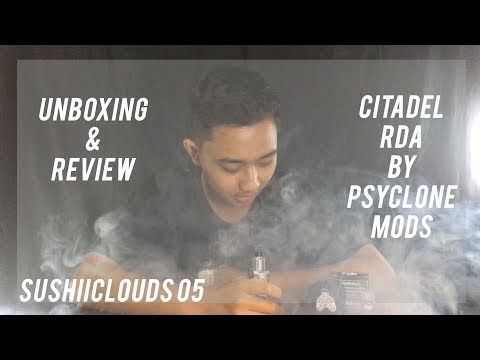 CITADEL RDA By PSYCLONEMODS UNBOXING & REVIEW (Bahasa Indonesia) - SUSHIICLOUDS 05