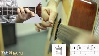�������� ���� Уроки гитары: бой в стиле Country / Кантри ������