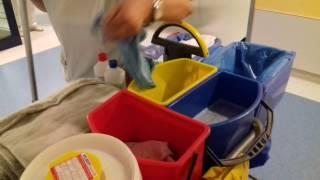 So läuft die Reinigung im Krankenhaus ab