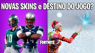 FORTNITE-AMERICAN FOOTBALL SKINS and END OF GAME HISTORY?