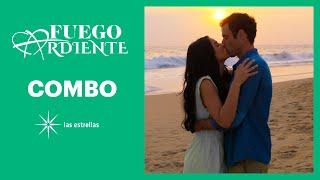 Fuego ardiente: Martina y Rodrigo se besan   C-79   Las Estrellas
