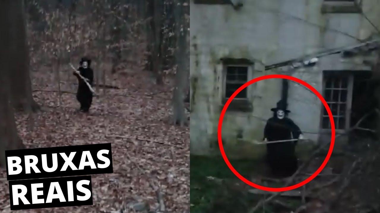 Download 8 Bruxas Reais Filmadas Por Câmeras, Bruxas Assustadoras CAPTURADAS POR CÂMERAS
