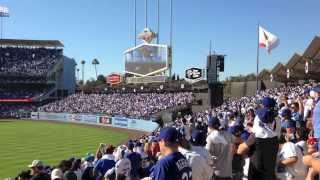 Take Me Out To The Ball Game at Dodger Stadium