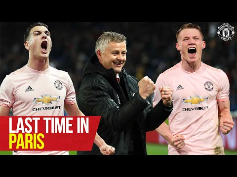 Last time in Paris! | PSG v Manchester United | UEFA Champions League