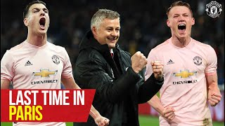 Last time in Paris! | PSG v Manchester United