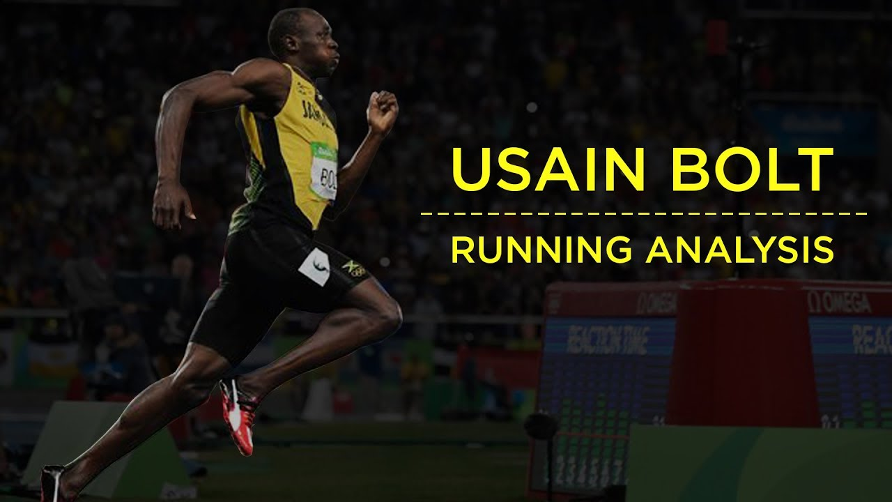 Diagram Olympic Sprinter Usain Bolt Wears His Football Jersey
