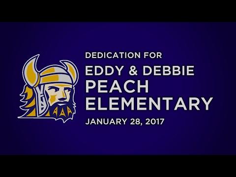 Eddy and Debbie Peach Elementary School Dedication
