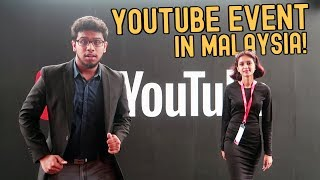 GIVING AN AWARD AT A YOUTUBE EVENT!