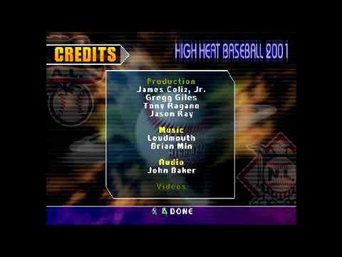 Sammy Sosa High Heat Baseball 2001 Credits