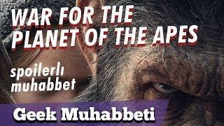 "Video WAR FOR THE PLANET OF THE APES - SPOILER'lı İnceleme - ""Gevrilen İnsanoğlu'nun Ağıtı"" download MP3, 3GP, MP4, WEBM, AVI, FLV Januari 2018"