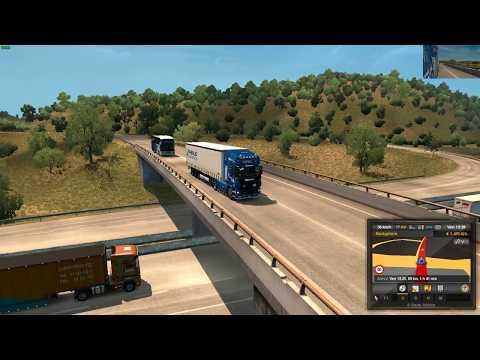 Euro Truck Simulator 2 (1.30) Scania R 2012 Italy Napoli Bari + DLC's & Mods