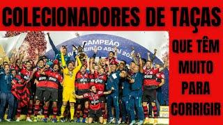 Flamengo segue papando títulos, leva o octa jogando mal. Após a festa, correções serão necessárias