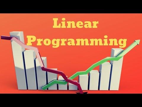 Linear Programming (LPP)-1st Class-Hindi Version