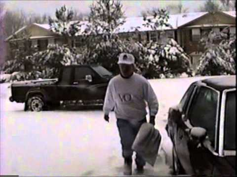 Blizzard of 1993 Oak Ridge, TN