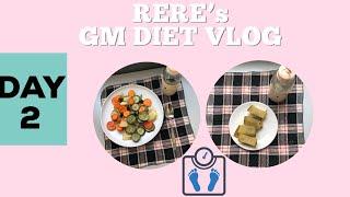 GM DIET VLOG DAY 2 - RELITA LESTARIA (BAHASA)