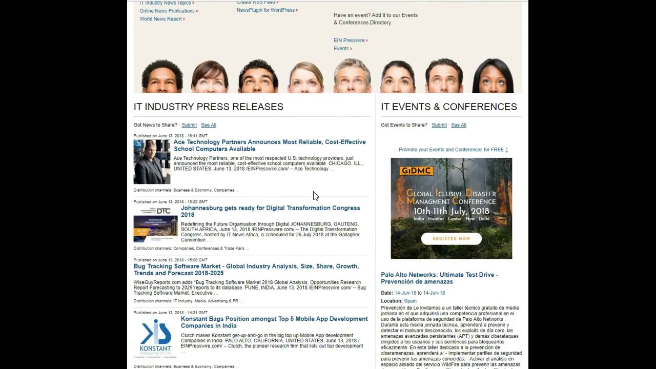 African Americans News Monitoring Service & Press Release