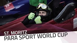 St. Moritz | Feeling the emotions of a raceday | IBSF Para-sport Official