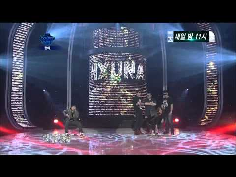 [HD] 110811 - 110812 HyunA  - Just Follow [ft.Zico]