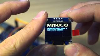 Arduino LCD 0.96 I2C 128x64