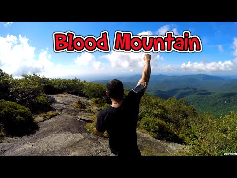 aed2fdad8c5 GoPro Blood Mountain Hike On The Appalachian Trail In North Georgia ...