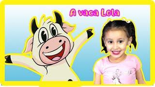 VACA LOLA - SEU LOBATO - FAZENDINHA - CANCIONES INFANTILES - MÚSICA INFANTIL - BIA E HENRY KIDS