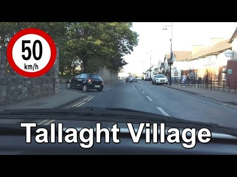 Dash Cam Ireland - Tallaght Village, Dublin