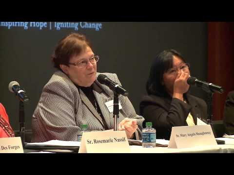 Building Bridges through Intercultural Competency: Education and Ministry in the Church: Panel 2